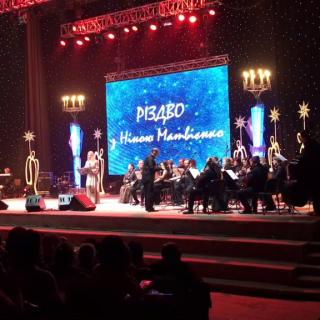 Рождественский благотворительный концерт Нины Матвиенко