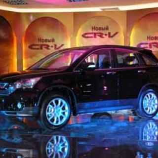 """Презентация новой модели """"CR-V"""" компании """"Honda"""""""