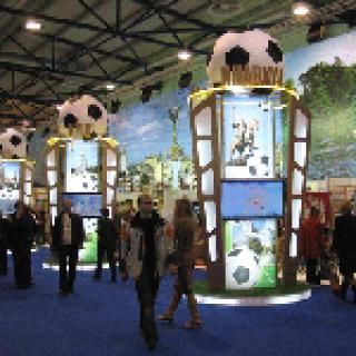 """Выставка посвященная проведению Чемпионата Европы по футболу """"Евро-2012"""""""