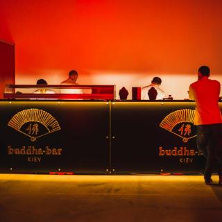 "Buddha Bar на ""Неделе моды в Киеве"""