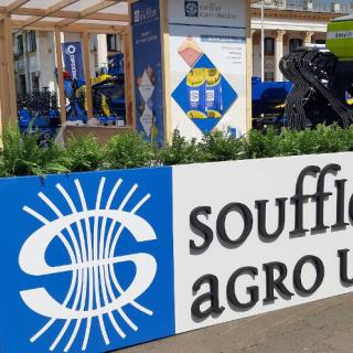 Эксклюзивный выставочный стенд Soufflet Agro