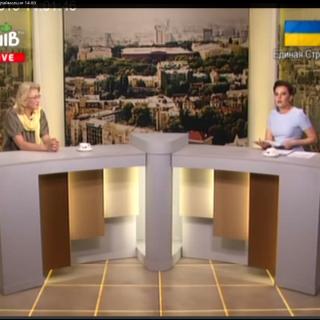"""Декорации для TV-студии ТРК """"Киев"""""""